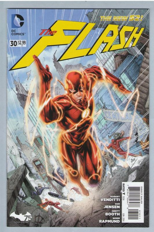 Flash V3 30 Jun 2014 NM- (9.2)