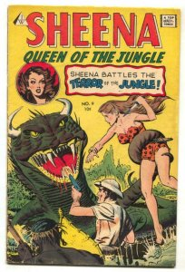Sheena Queen of the Jungle #9- IW Golden Age reprint VG+