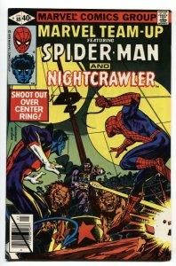MARVEL TEAM-UP #89 Spider-Man-Nightcrawler NM-