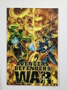 Avengers Defenders War Tpb Softcover Sc Very Fine Vf 8.0 Marvel