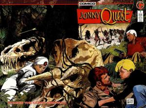 Jonny Quest (Comico) #7 VF; COMICO | save on shipping - details inside