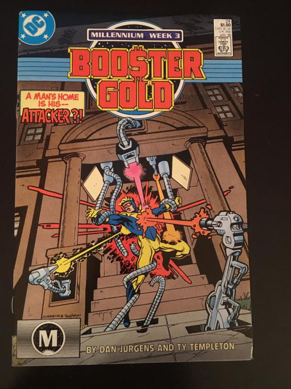 BOOSTER GOLD #24, VF/NM, Templeton, DC, 1986 1988,  more in store