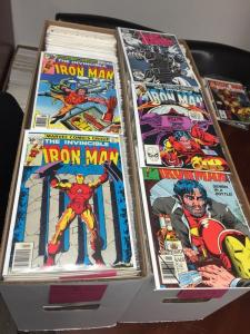 Iron Man 70-332 1-13 1-89 1-35 1-33 1-28 Annuals One Shots Mini's 500+ Nm Comics