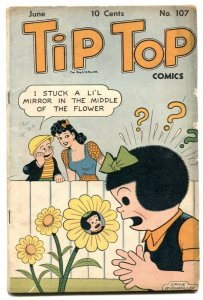 Tip Top Comics #107 1945- Triple Terror- Nancy VG