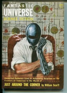 FANTASTIC UNIVERSE SCIENCE FICTION April 1955 Pulp mag digest
