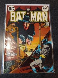 BATMAN #253 1VF/NM HIGH GRADE   1ST MEETING OF BATMAN AND THE SHADOW