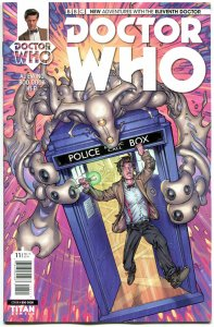 DOCTOR WHO #11 A, NM, 11th, Tardis, 2014, Titan, 1st, more DW in store, Sci-fi