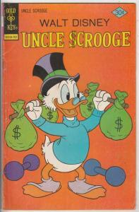 Uncle Scrooge, Walt Disney #137 (Feb-77) FN- Mid-Grade Uncle Scrooge