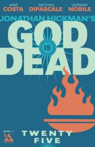 God is Dead #25, NM (Stock photo)