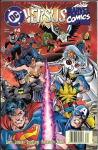 DC VERSUS MARVEL #4, NM, Wonderwoman, Wolverine, 1996, more in store