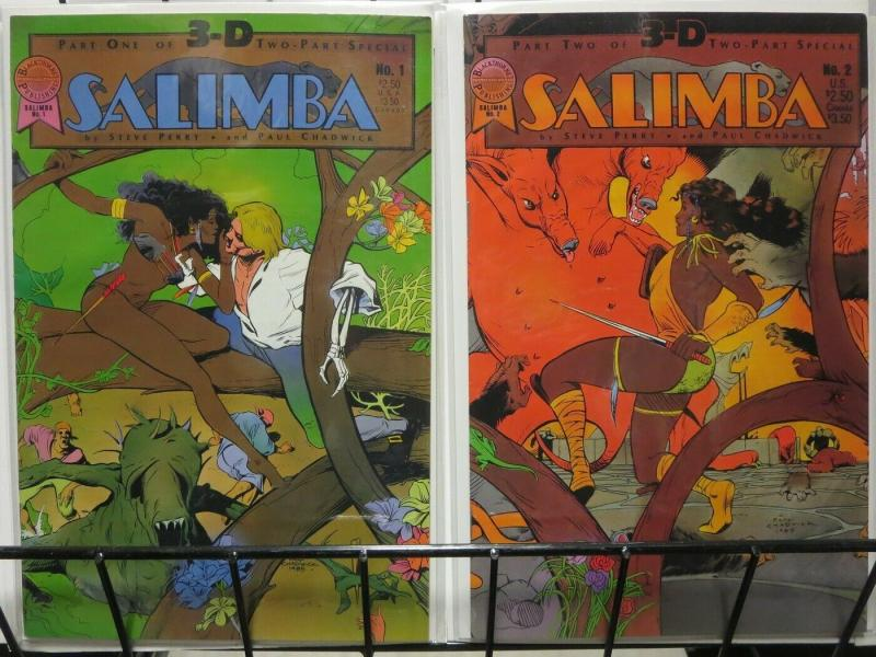 SALIMBA 3D (1986 BL) 1-2 early Paul CHADIWCK!