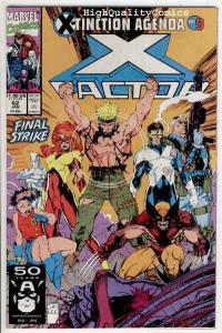 X-FACTOR #62, NM, X-Tinction Agenda,Wolverine, Jim Lee, 1986, more in store