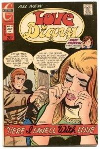 Love Diary #85 1973- Partridge Family - Danny Bonaduce pin up FN-