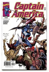 Captain America #28-2000 1st appearance of Protocide