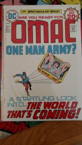 Omac #1 (Oct 1974, DC) NM or Better