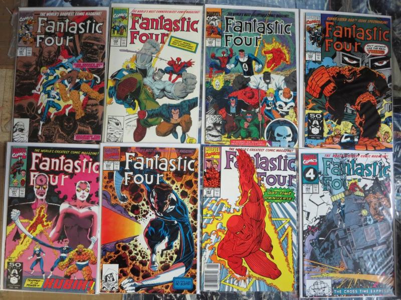 Fantastic Four 52 Issue Lot  #347-416 Mixed (1990-96) Spider-Man Hulk Dr Doom+++