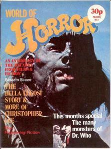 WORLD OF HORROR (1970S DALLRUTH)  3 G-VG