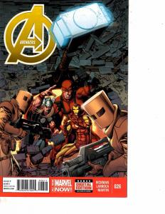 Lot Of 2 Comic Books Marvel Avengers #26 and Avengers Rogue Planet #1   ON10