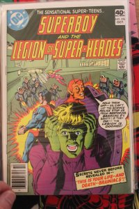 Superboy and the Legion of Super Heroes 256 NM