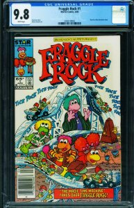 Fraggle Rock #1 cgc 9.8 1986-NEWSSTAND VARIANT 2038149002