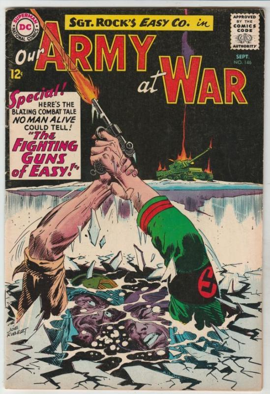 Our Army at War #146 (Sep-64) FN/VF High-Grade Easy Company, Sgt. Rock