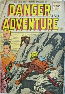 Danger and Adventure #27 Charlton Comic Silver Age 1956 VG+