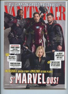 VANITY FAIR: Avengers Infinity War Cover (Iron Man, Black Widow, Thor, Falcon)