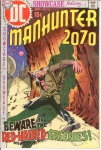 SHOWCASE 93 G-VG MANHUNTER,LAST 15 CENT COVER Sept.1970 COMICS BOOK