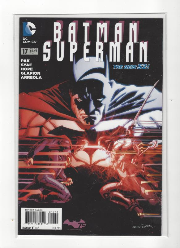 Batman/Superman #17 DC Comics New 52 NM/M SALE!!!!