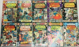 SUPERMAN FAMILY#170-203 FN-VF LOT (10 BOOKS) 1973 DC BRONZE AGE COMICS