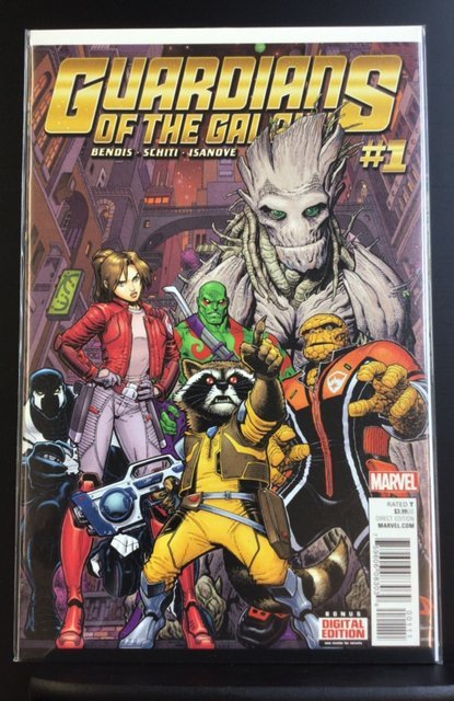 Guardians of the Galaxy #1 (2015)