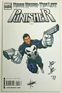 PUNISHER DARK REIGN THE LIST#1 NM 2010 SIGNED 2X 1 IN 100 VARIANT MARVEL COMICS