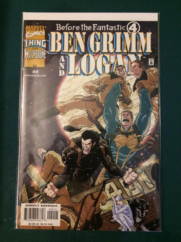 Ben Grimm and Logan #2 Before the Fantastic Four