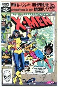 X-MEN #153 comic book 1982--MARVEL-NICE ISSUE! nm-