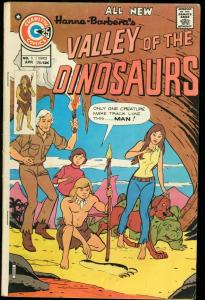 VALLEY OF THE DINOSAURS #1-HANNA BARBERA-FIRST ISSUE VG