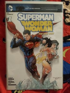Superman/Wonder Woman NM #1 The New 52 limited to 600 world wide