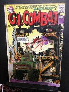 G.I. Combat #111 (1965) affordable-grade, Joe Kubert Haunted Tank key! VG Wow!