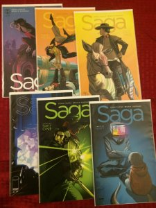 Saga Comic Lot #40-#45 NM Image Comics 2016