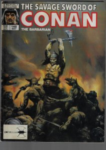 Savage Sword of Conan #148 (Marvel, 1988)