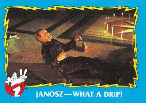 1989 Topps Ghostbusters #78 Janosz What A Drip!