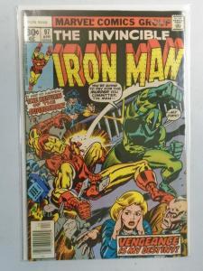 Iron Man #97 (1977 1st Series) 4.0/VG