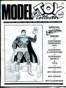 Model and Toy Collector #9 1988-Superman issue-customized superhero kits-FN/VF