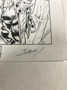 Venom 164 Page 12 Original Art 1/2 Splash Mark Bagley Full Costume Transition Nm