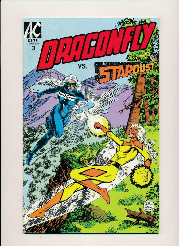 AC Lot of 2-DRAGONFLY VS. STARDUST #3-5 VERY FINE(PF836)