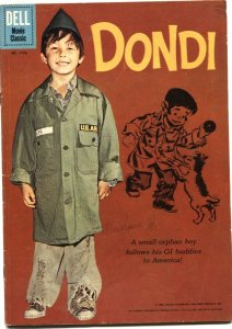 DONDI-FOUR COLOR #1170-DELL-1961-MOVIE EDITION-DAVID KROY COVER