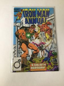 Iron Man Annual 7 Nm- Near Mint- Marvel Comics