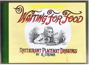 WAITING for FOOD, HC w/ dustjacet, Robert Crumb, NM-, 1996, more items in store