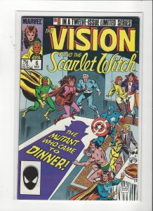 Vision and the Scarlet Witch (1985 series) #6 of 12  VF/NM Marvel Comics