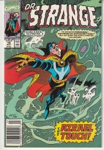Doctor Strange Sorcerer Supreme # 19  Evil Borne From the Earth !