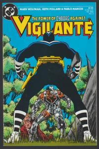 VIGILANTE #3 DC COMIC 1984